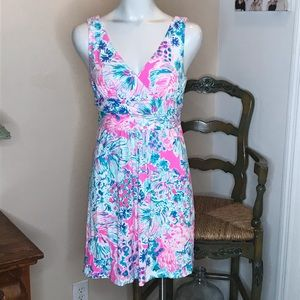 Lilly Pulitzer Angelfish Dress Size M
